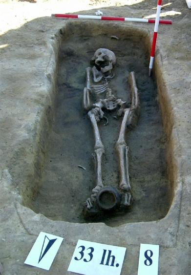 A császárkori sír