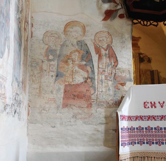 Szent Anna, Szűz Mária és a gyerek Jézus