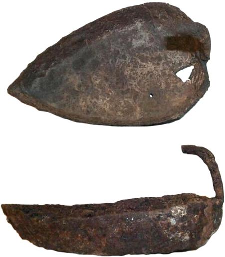 Szentes–Berekhát, bronz csónakmécses