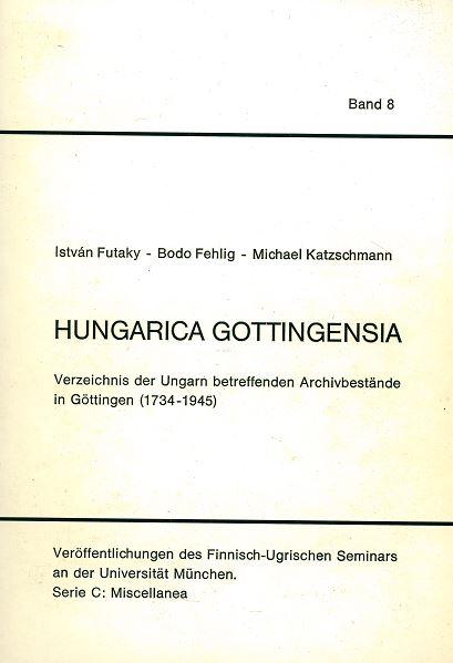 hungaricagottingensia